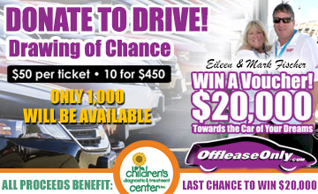 Win a $20,000 Off Lease Only Car Voucher!
