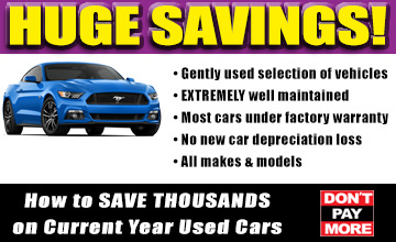 OffLeaseOnly SAVE THOUSANDS on CURRENT YEAR Used Cars