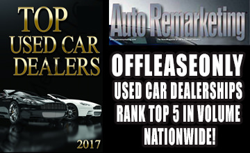 OffLeaseOnly Top 5 Used Car Dealership in the Nation