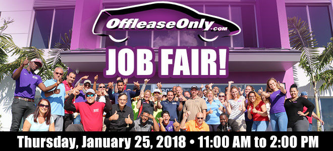 Off Lease Palm Beach >> Offleaseonly Team At West Palm Beach 2018 Career Fair