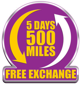 Off Lease Only 5 Days / 500 Miles Free Exchange