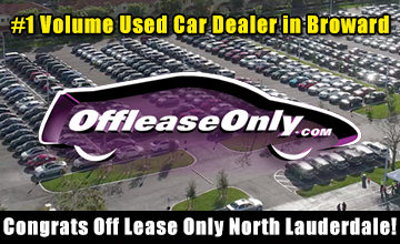 Off Lease Only Broward Top Used Car Dealer