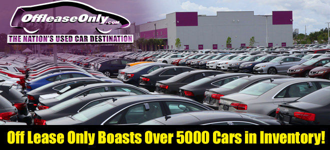 Off Lease Cars >> Off Lease Only Boasts More Than 5 000 Used Cars Trucks