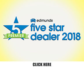 Edmunds five-star dealer award