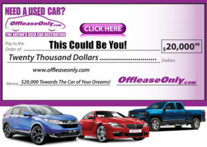 Off Lease Only Car Voucher