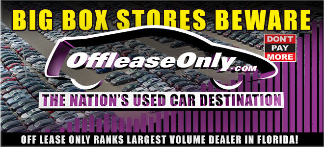 Offleaseonly Used Car Sales Volume Leads Florida