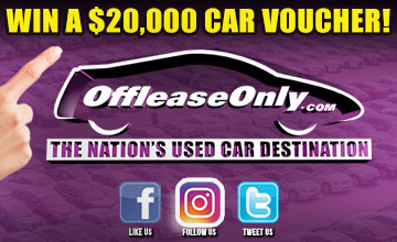 Off Lease Only Win a 20k Car Voucher