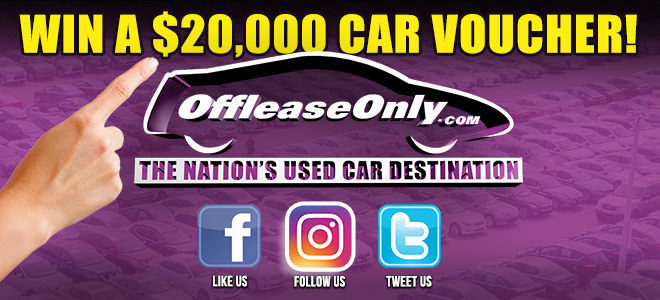 Follow Us For Your Chance To Win A 20 000 Offleaseonly Car Voucher