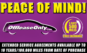 Off Lease Only - Extended Service Agreements -Piece Of Mind