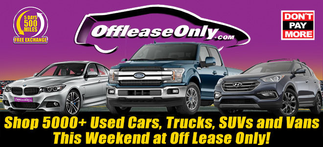 Off Lease Cars >> Shop 5000 Used Vehicles This Weekend At Off Lease Only
