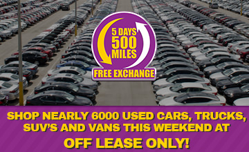 OffLeaseOnly Nearly 6000 Used Cars for Sale