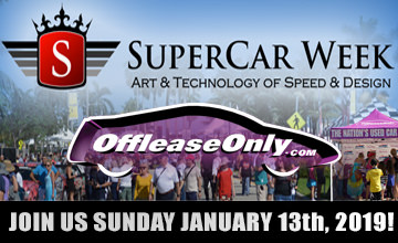 Off Leas eOnly 2019 Super Car Week