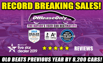 Off Lease Only 2019 Sales Record
