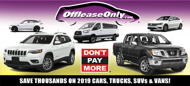 Off Lease Only 2019 Used Cars, Trucks, SUVs and Vans for Sale!