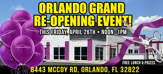 Off Lease Only Orlando 2019 Re-Opening