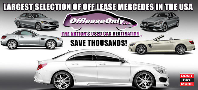 Off Lease Only Used Mercedes Benz for Sale