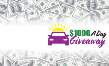 Off Lease Only 1000 Day Giveaway