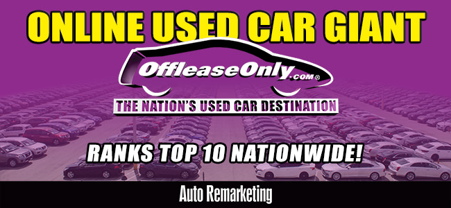 Off Lease Only Used Car Giant Ranks Top 10 Nationwide