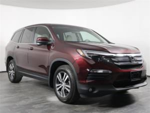 Used 2017 Honda Pilot EX AWD from OffLeaseOnly.com