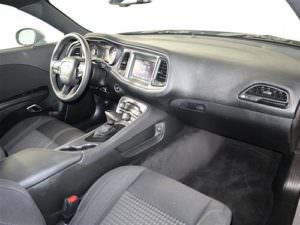 Interior of a 2019 Dodge Challenger SXT