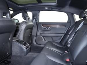 Used 2018 Volvo S90 backseat