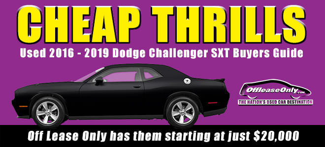 Off Lease Only Used Dodge Challenger