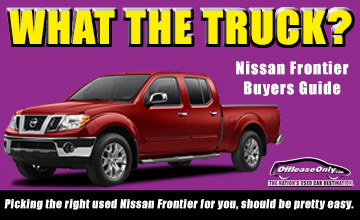 Off Lease Only Used Nissan Frontier