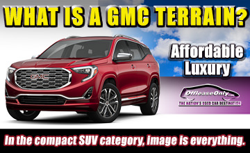 Off Lease Only Used GMC Terrain