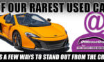 Off Lease Only Used McLaren 650