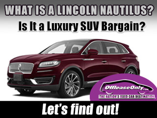Off Lease Only Used Lincoln Nautilus