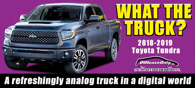 Off Lease Only Used Toyota Tundra for Sale