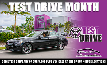 Off Lease Only Test Drive Month