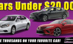 Off Lease Only Used Cars Under $20,000