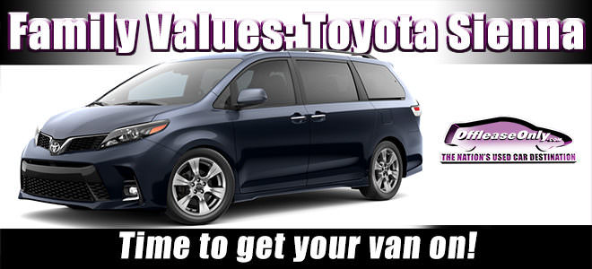 Off Lease Only Used Toyota Sienna