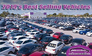 Off Lease Only 2019 Best Selling Vehicles