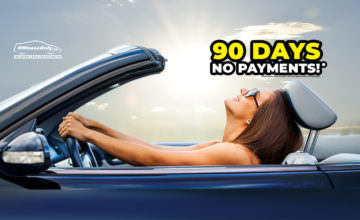 Off Lease Only No Payments for 90 Days