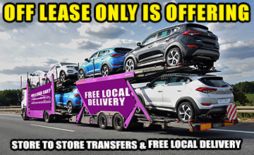 Off Lease Only Free Local Delivery