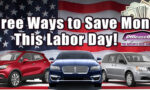 Off Lease Only Labor Day Savings