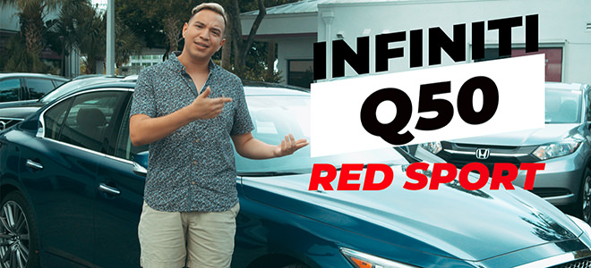 Off Lease Only Used Infiniti Q50 for Sale