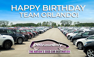 Off Lease Only Orlando - Happy Birthday