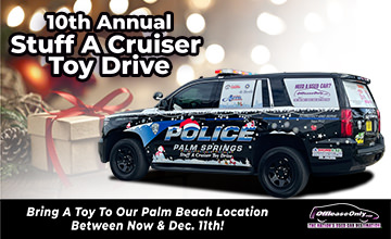 Off Lease Only 2020 Cruisser Toy Drive